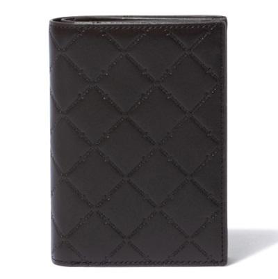 パトリックコックス 折財布 LOGO EMBOSS 小銭入れ付二つ折り財布 ミドルサイズ チョコ PATRICK COX