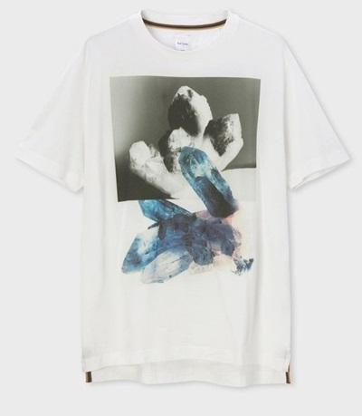 ポールスミス Tシャツ Precious Stones ホワイト XL Paul Smith