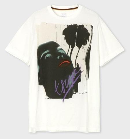 ポールスミス Tシャツ メンズ Paradise プリント ホワイト XL Paul Smith