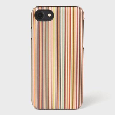 ポールスミス モバイルケース インテリアマルチストライプ iPhone ケース マルチカラー Paul Smith