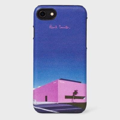 ポールスミス モバイルケース LAショップ iPhone ケース ブラック Paul Smith