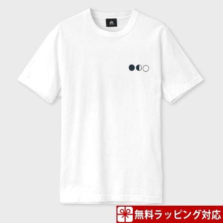 ポールスミス Tシャツ メンズ RED EAR ラビット&ムーン プリント ホワイト M Paul Smith