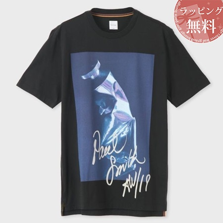 ポールスミス Tシャツ Artist Studio ロゴ プリント ホワイト Paul Smith