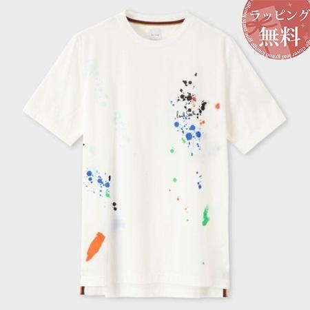 ポールスミス Tシャツ Artist Studio ペイント 002 Paul Smith