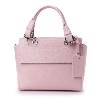 サマンサタバサ ワンハンドルトートバッグ 小 ピンク