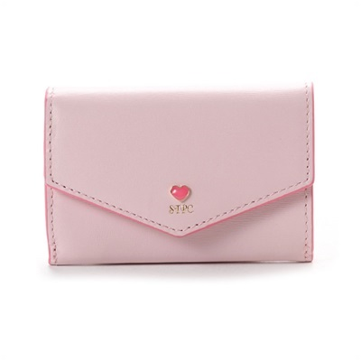 サマンサタバサプチチョイス プチハートラブレター ミニ財布 ピンク