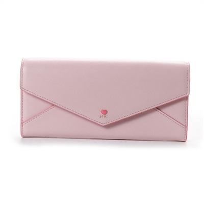 サマンサタバサプチチョイス プチハートラブレター 長財布 ピンク