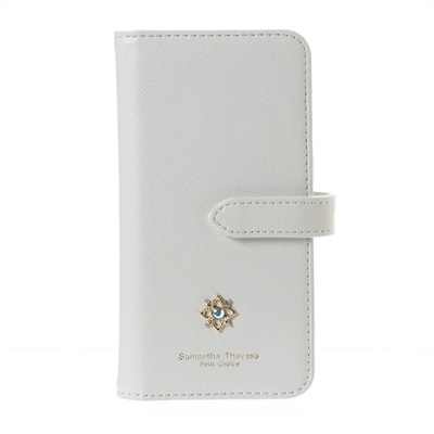 サマンサタバサプチチョイス フラワーモチーフシリーズ iPhoneXケース ホワイト