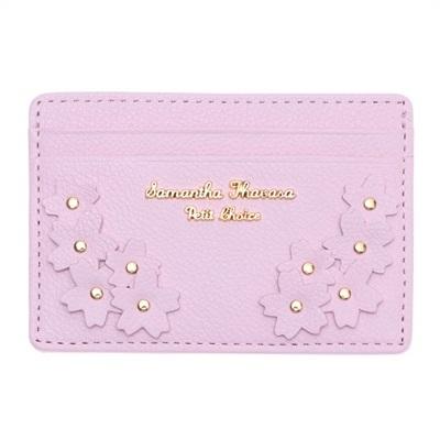 サマンサタバサプチチョイス Lara Collection 日本 サクラ柄お財布シリーズ パスケース 定期入れ ピンク