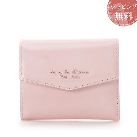 サマンサタバサ 財布 折財布 アンティークガラスレザーシリーズ ピンク SamanthaThavasaPetitChoice