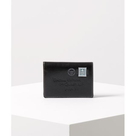 【あす楽】ヴィヴィアンウエストウッド パスケース エンベロープ ブラック Vivienne Westwood