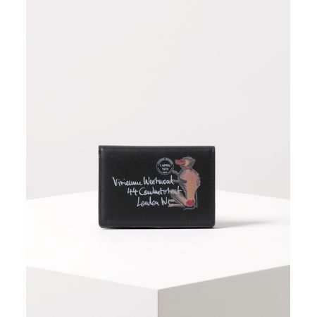 ヴィヴィアンウエストウッド パスケース モンキー&タイガー ブラック Vivienne Westwood