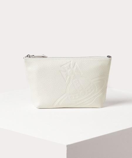 ヴィヴィアン 財布 バッグ メンズ レディース 送料無料 正規品 新品 ギフト 10代 20代 30代 40代 クリスマス プレゼント ヴィヴィアンウエストウッド ポーチ ハミルトン M シロ Vivienne Westwood