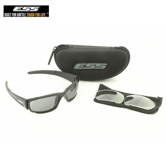 ESS サングラス CDI ブラック シーディーアイ UVカット バイク ツーリングオークリーのミリタリー部門