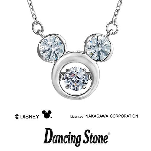 プレゼント クロスフォーニューヨーク Crossfor NewYork ネックレス Dancing Stone ダンシングストーン Disney Series ディズニーシリーズ ミッキー Mickey 【NDP-001】【送料無料】
