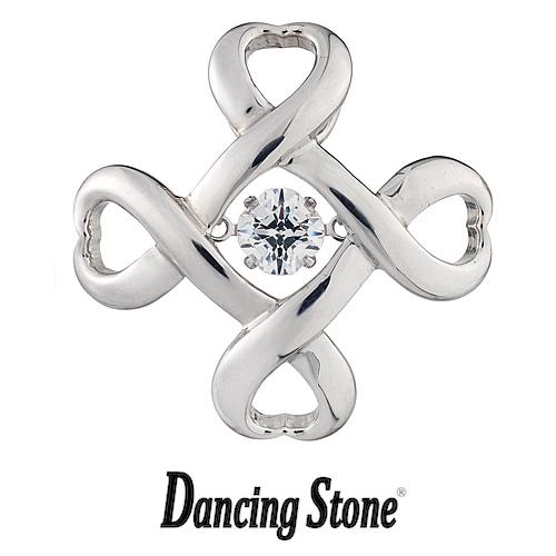 クロスフォーニューヨーク Crossfor NewYork タイニーピン Dancing Stone ダンシングストーンシリーズ Crossfor logo4 【NY-T001】【送料無料】 襟章 ピンバッジ ピンズ
