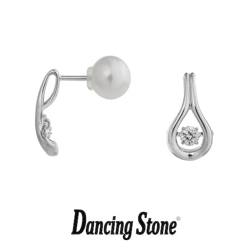 クロスフォーニューヨーク Crossfor NewYork ピアス Dancing Stone ダンシングストーンシリーズ Ocean 【NYE-115】【送料無料】