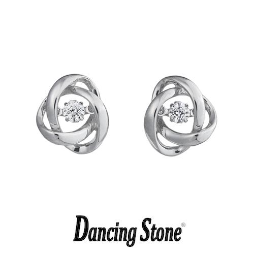 クロスフォーニューヨーク Crossfor NewYork ピアス Dancing Stone ダンシングストーンシリーズ Loop2 【NYE-117】【送料無料】