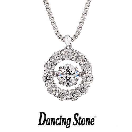 【送料無料】プレゼント クロスフォーニューヨーク Crossfor NewYork ネックレス Dancing Stone ダンシングストーン Flowerシリーズ Twinkle Flower1 【NYP-507】