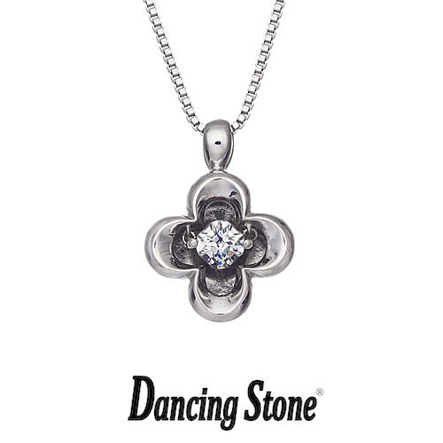 クロスフォーニューヨーク Crossfor NewYork ネックレス Dancing Stone ダンシングストーンシリーズ 人気デザインシリーズ Twinkle Clover 【NYP-510】【送料無料】
