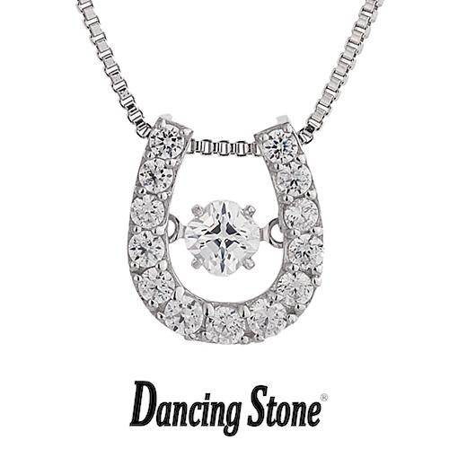 クロスフォーニューヨーク Crossfor NewYork ネックレス Dancing Stone ダンシングストーンシリーズ 人気デザインシリーズ Twinkle Horseshoe 【NYP-511】【送料無料】