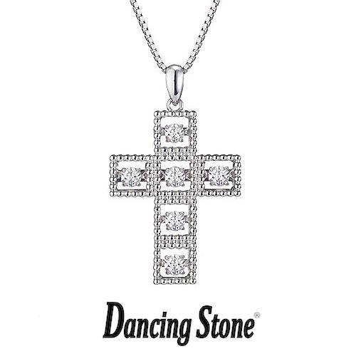 クロスフォーニューヨーク Crossfor NewYork ネックレス Dancing Stone ダンシングストーンシリーズ 人気デザインシリーズ Twinkle Cross1 クロス 十字架 【NYP-521】【送料無料】
