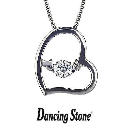 クロスフォーニューヨーク Crossfor NewYork ネックレス Dancing Stone ダンシングストーンシリーズ 人気デザインシリーズ Twinkle Love2 ハート 【NYP-523】【送料無料】