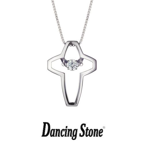 クロスフォーニューヨーク Crossfor NewYork ネックレス Dancing Stone ダンシングストーンシリーズ 人気デザインシリーズ Twinkle Cross2 クロス 十字架 【NYP-524】【送料無料】