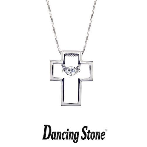 クロスフォーニューヨーク Crossfor NewYork ネックレス Dancing Stone ダンシングストーンシリーズ 人気デザインシリーズ Twinkle Cross3 クロス 十字架 【NYP-525】【送料無料】