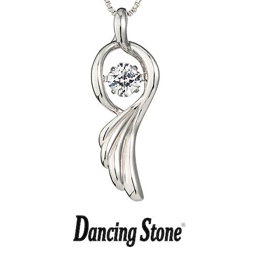 クロスフォーニューヨーク Crossfor NewYork ネックレス Dancing Stone ダンシングストーンシリーズ 人気デザインシリーズ Dancing Angel wing 天使の羽根 【NYP-537】【送料無料】