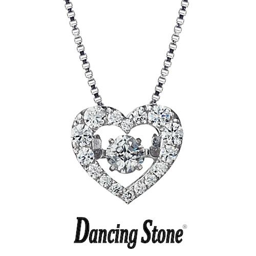 クロスフォーニューヨーク Crossfor NewYork ネックレス Dancing Stone ダンシングストーンシリーズ 人気デザインシリーズ Dancing Tenderness ハート 【NYP-540】【送料無料】