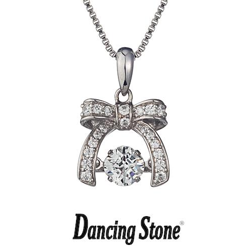 クロスフォーニューヨーク Crossfor NewYork ネックレス Dancing Stone ダンシングストーンシリーズ Good Futureシリーズ Dancing Ribon wreath 【NYP-543】【送料無料】