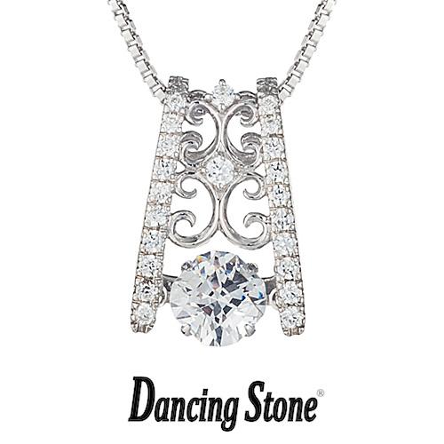 クロスフォーニューヨーク Crossfor NewYork ネックレス Dancing Stone ダンシングストーンシリーズ Good Futureシリーズ Princess 【NYP-552】【送料無料】