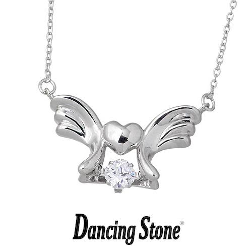 クロスフォーニューヨーク Crossfor NewYork ネックレス Dancing Stone ダンシングストーンシリーズ 人気デザインシリーズ Baby Angel 天使の羽根 【NYP-556】【送料無料】