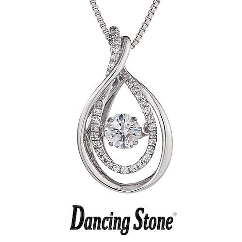 クロスフォーニューヨーク Crossfor NewYork ネックレス Dancing Stone ダンシングストーンシリーズ 人気デザインシリーズ D-Drops しずく 【NYP-559】【送料無料】