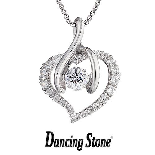 クロスフォーニューヨーク Crossfor NewYork ネックレス Dancing Stone ダンシングストーンシリーズ 人気デザインシリーズ Smart Heart ハート 【NYP-560】【送料無料】