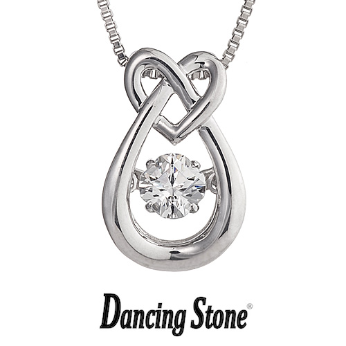 クロスフォーニューヨーク Crossfor NewYork ネックレス Dancing Stone ダンシングストーンシリーズ 人気デザインシリーズ Heart egg ハート たまご 【NYP-569】【送料無料】
