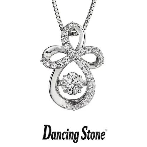 クロスフォーニューヨーク Crossfor NewYork ネックレス Dancing Stone ダンシングストーンシリーズ 人気デザインシリーズ Infinity 【NYP-571】【送料無料】