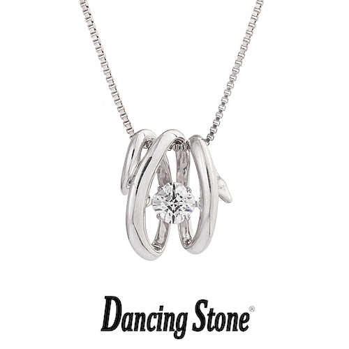 クロスフォーニューヨーク Crossfor NewYork ネックレス Dancing Stone ダンシングストーンシリーズ 人気デザインシリーズ White Snake 白蛇 【NYP-574】【送料無料】
