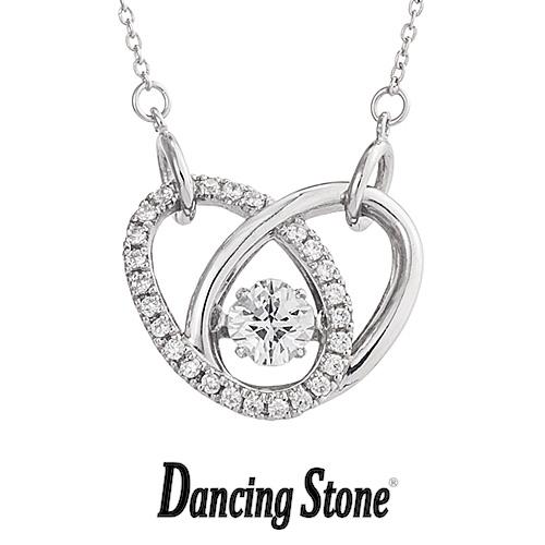 クロスフォーニューヨーク Crossfor NewYork ネックレス Dancing Stone ダンシングストーンシリーズ 人気デザインシリーズ Heart Ring ハート 【NYP-583】【送料無料】
