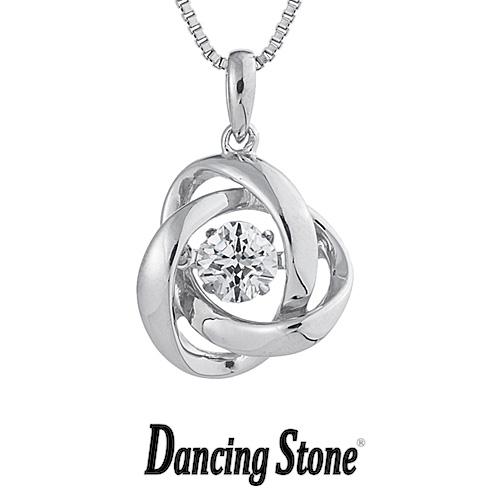 ひるおびで紹介!クロスフォーニューヨーク Crossfor NewYork ネックレス Dancing Stone ダンシングストーンシリーズ 人気デザインシリーズ Loop2 【NYP-588】【送料無料】