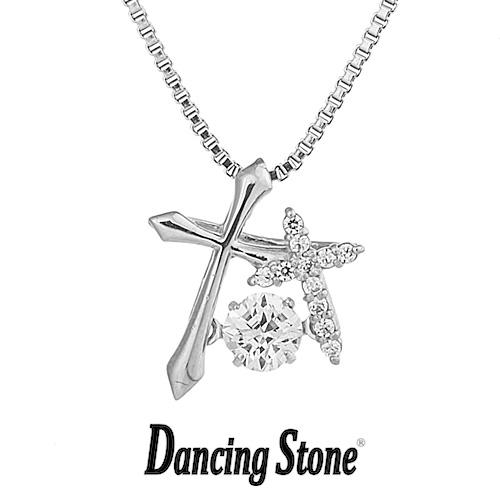 クロスフォーニューヨーク Crossfor NewYork ネックレス Dancing Stone ダンシングストーンシリーズ 人気デザインシリーズ Double Cross 【NYP-595】【送料無料】