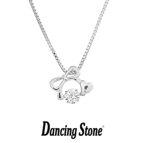 クロスフォーニューヨーク Crossfor NewYork ネックレス Dancing Stone ダンシングストーンシリーズ 人気デザインシリーズ Connect Heart 【NYP-597】【送料無料】