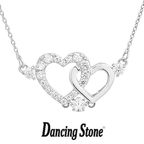 クロスフォーニューヨーク Crossfor NewYork ネックレス Dancing Stone ダンシングストーンシリーズ 人気デザインシリーズ Pure Heart 【NYP-598】【送料無料】