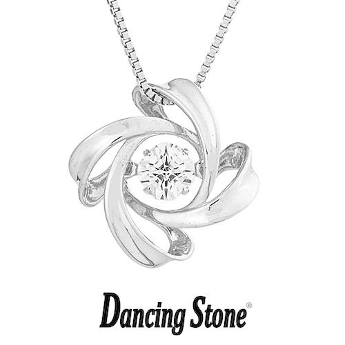 クロスフォーニューヨーク Crossfor NewYork ネックレス Dancing Stone ダンシングストーンシリーズ 人気デザインシリーズ Spiral1 【NYP-599】【送料無料】