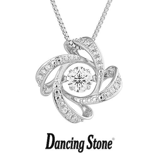 クロスフォーニューヨーク Crossfor NewYork ネックレス Dancing Stone ダンシングストーンシリーズ 人気デザインシリーズ Spiral2 【NYP-600】【送料無料】