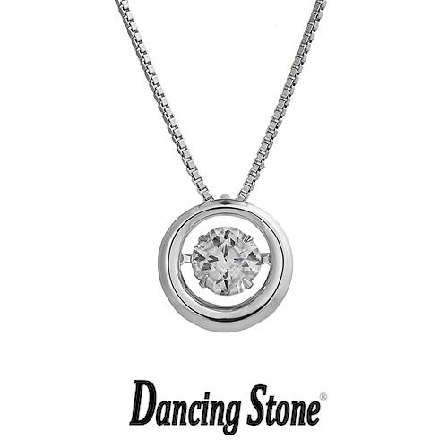 プレゼントに クロスフォーニューヨーク Crossfor NewYork ネックレス Dancing Stone ダンシングストーンシリーズ 人気デザインシリーズ Full moon 【NYP-606】【送料無料】