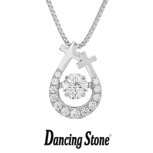 プレゼントに クロスフォーニューヨーク Crossfor NewYork ネックレス Dancing Stone ダンシングストーンシリーズ 人気デザインシリーズ Cross egg 【NYP-607】【送料無料】
