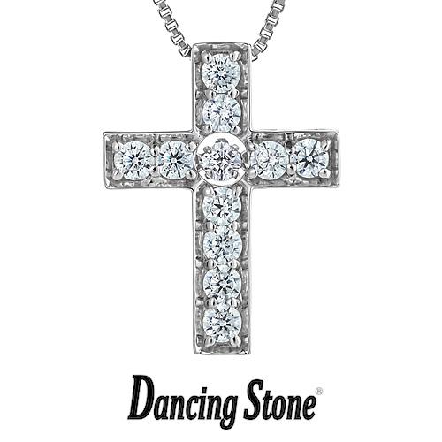 プレゼント クロスフォーニューヨーク Crossfor NewYork ネックレス Dancing Stone ダンシングストーン ダレノガレ明美デザイン Cross クロス 十字架 【NYP-618】【送料無料】
