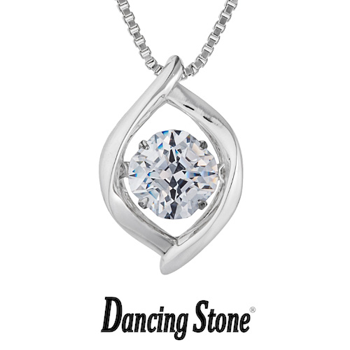 クロスフォーニューヨーク Crossfor NewYork ネックレス ペンダント Dancing Stone ダンシングストーン Silent NYP-625 送料無料
